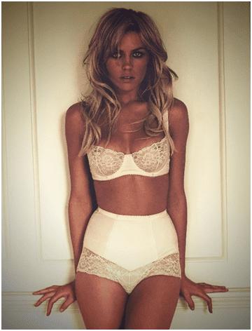 Modeling Lingerie Underwear