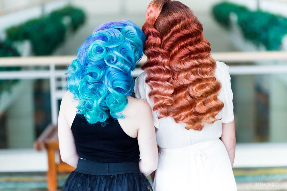 best hairstyles of 2018 hollywood waves and mermaid hair