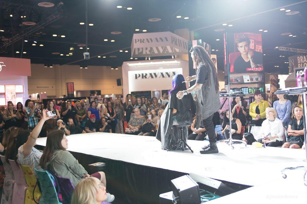 Philip Wolf Hairstylist Premiere Beauty Show Orlando with Matrix
